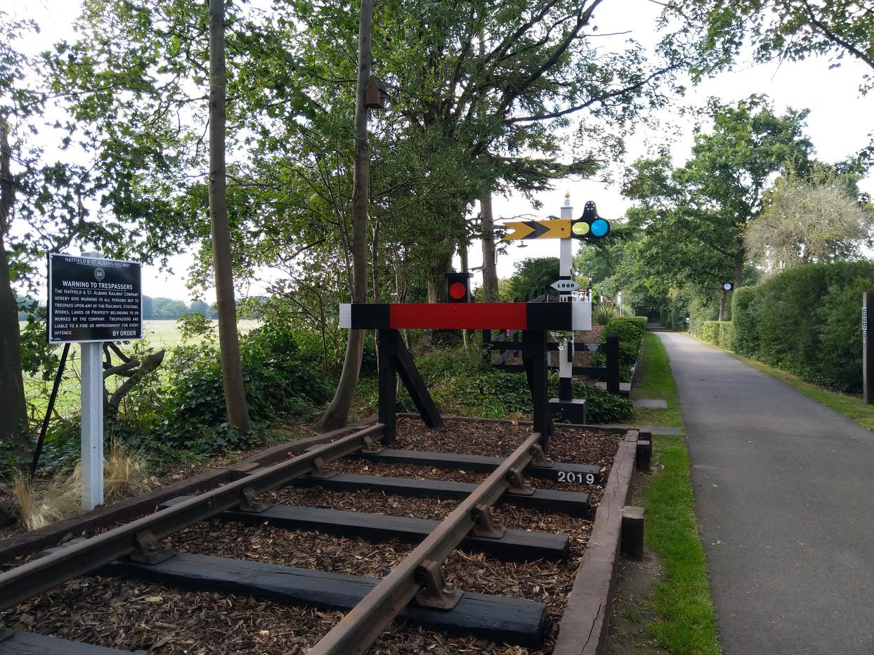 New railway track