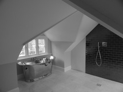 Attic conversion with wet room