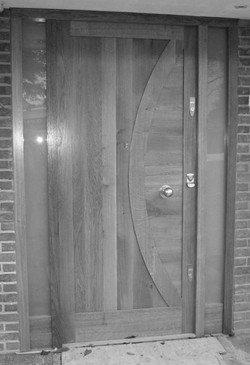 Bespoke door design for private home
