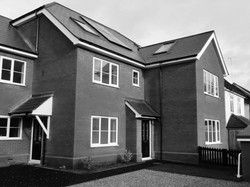New four home residential dev