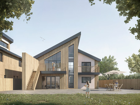 Planning permission for three Passive Houses in St Albans