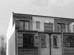 New townhouse development in Hemel