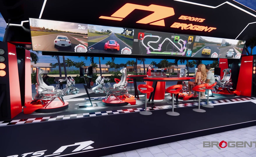 eSports - Racing Container Design