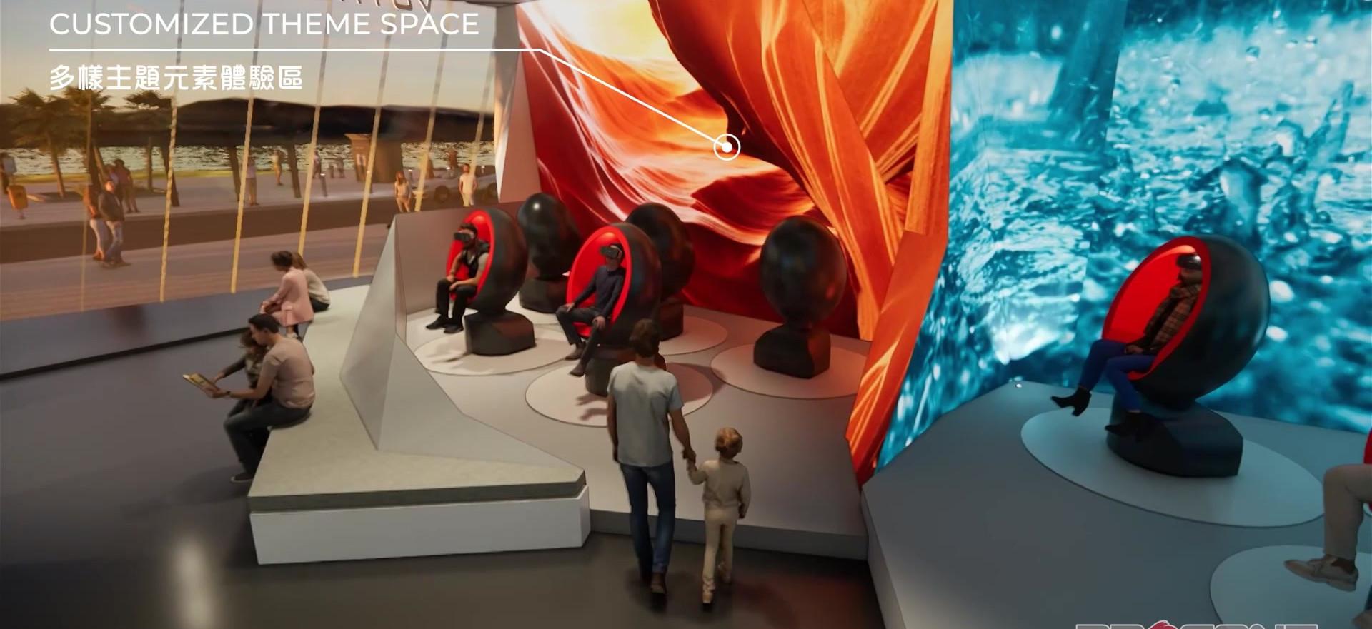Voyager Ride Concept - M - 30 Seats Option