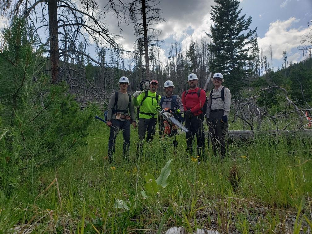 The Motley J Bar T Survey Crew
