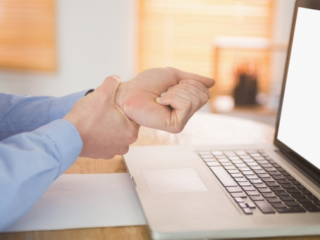 RSI – Repetitive Strain Injury (over use)