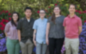 Alan Teo Research Team 2019, Kailey Trussel, Ricky Bui, Wynn Strange, Emily Metcalf, Alan Teo, Center to Improve Veteran Involvemet in Care, Portland, OR