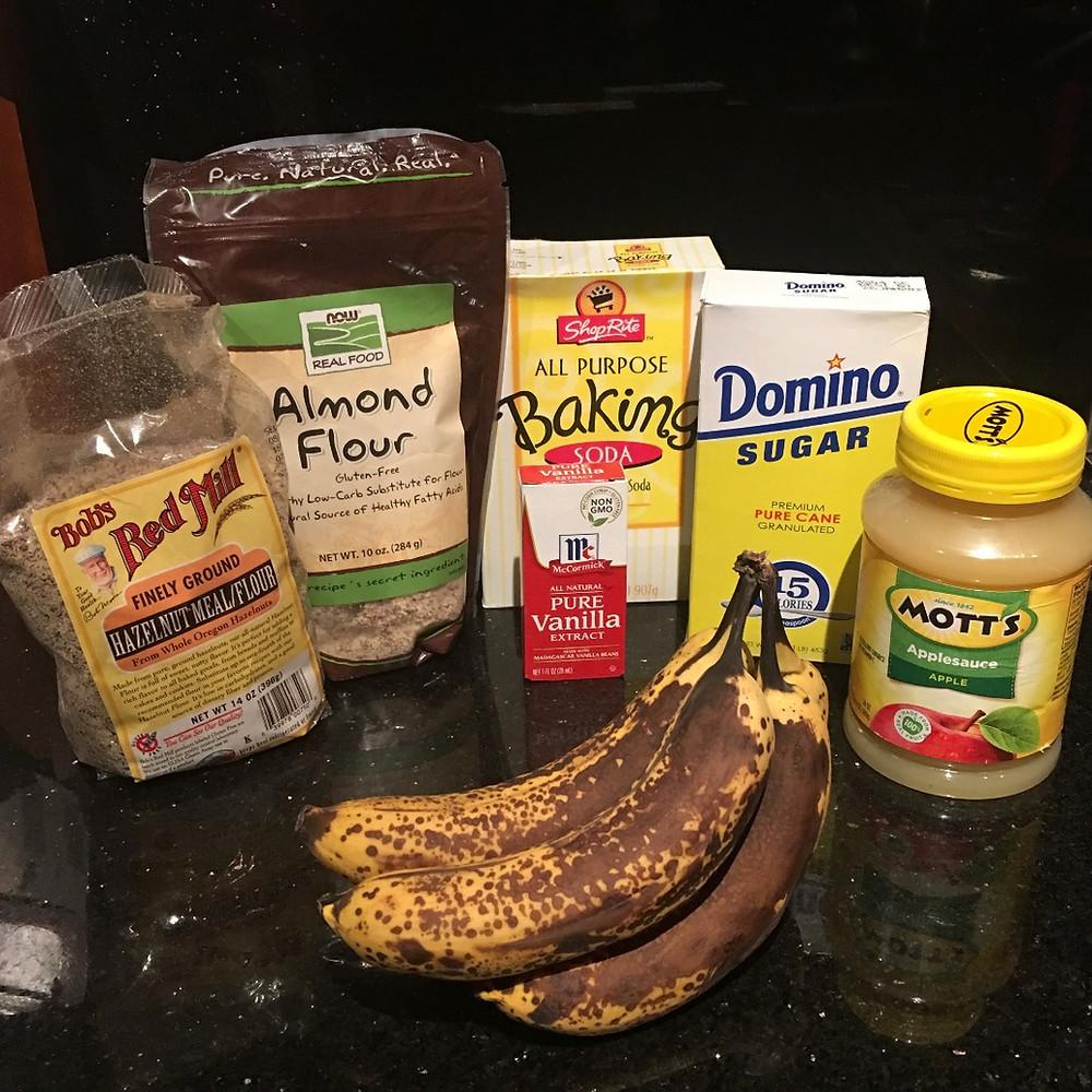 Grandma's Banana Bread made Gluten Free