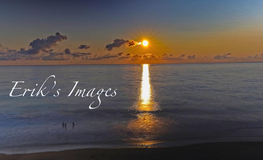 Bella Beach Sunburst Sunset