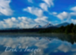 Black Butte Ranch Mountain Reflection