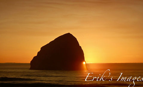 Pacific City Haystack Sunset