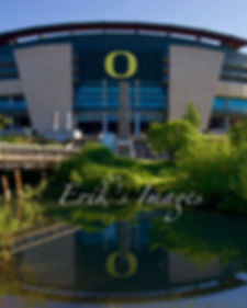 Autzen Stadium Reflection