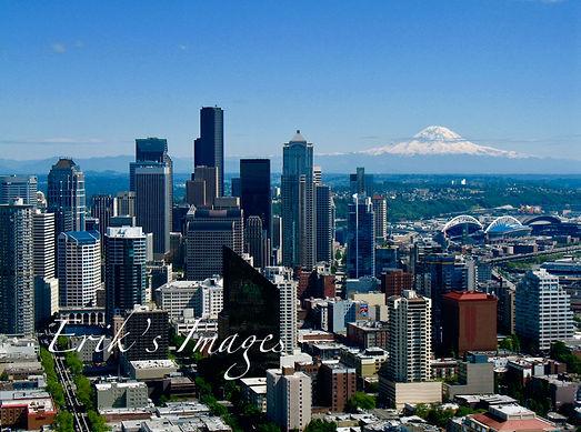 Seattle; Mt. Raineer