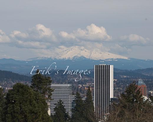 Portland and Mt.hood