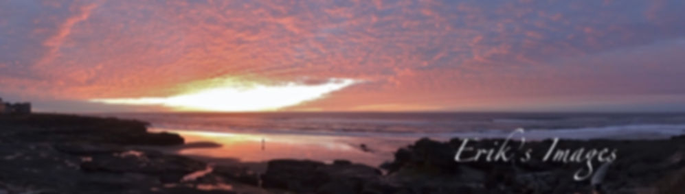 Yachats Sunset Panorama