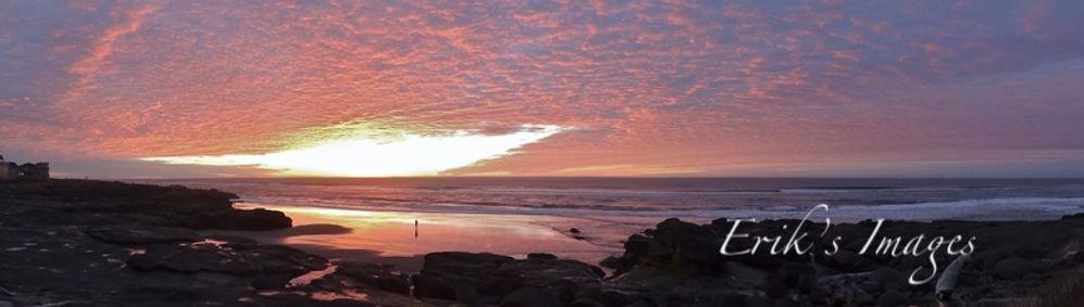 Yachats Sunset Panorama