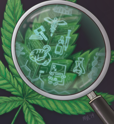 UTMJ Cannabis Cover Detail