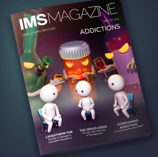 Magazine cover: Addictions