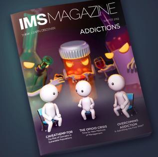 Magazine cover: Addictions