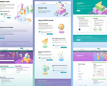 Product Site & Dashboard