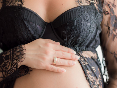 Boudoir Maternity Session
