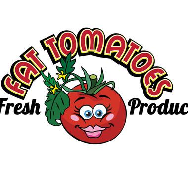FAT TOMATOES LOGO DESIGN