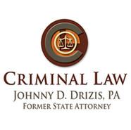 JOHNNY DRIZIS CRIMINAL LAW LOGO