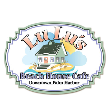LULU'S BEACH HOUSE CAFE LOGO DESIGN