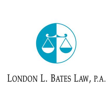 LONDON L. BATES LAW LOGO DESIGN