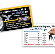 BILLS AUTOMOTIVE REPAIRS BUSINESS CARD DESIGN AND PRINT