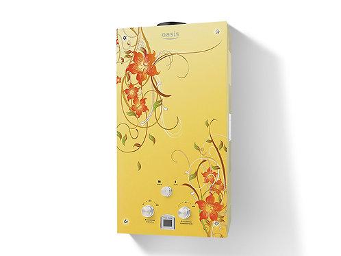 ГПВ OASIS СЕРИЯ GLASS BG20 кВт 10л/мин (Жёлтые цветы)