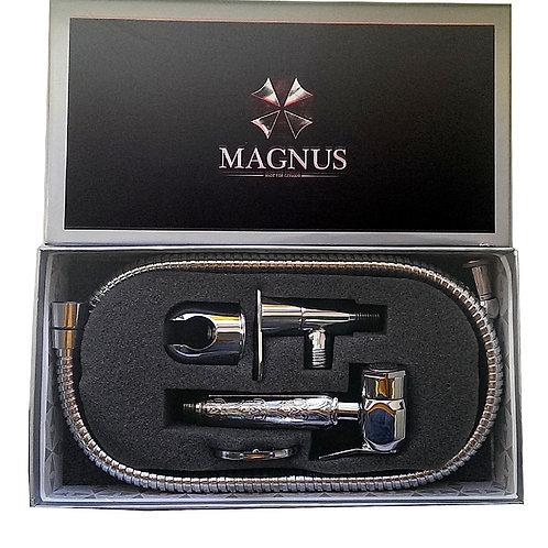 MAGNUS - Набор бидэ гигиенический ( шаровый кран + лейка + шланг ) хромированный