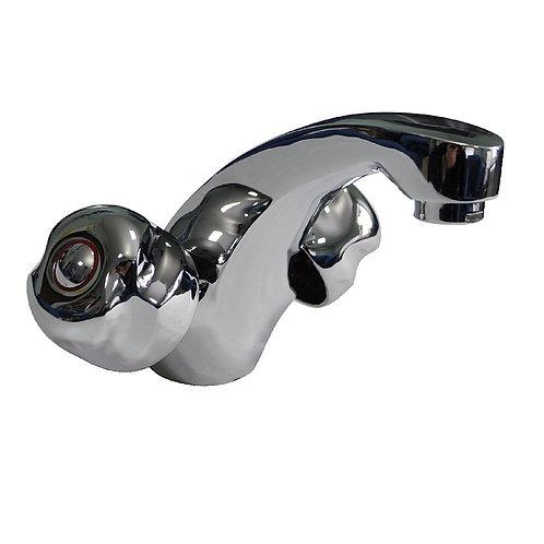 MYFAIR - Смеситель для раковины металлокерамика круглая ручка 87161-60