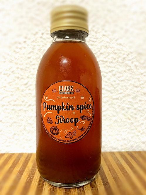 Pumpkin spice siroop