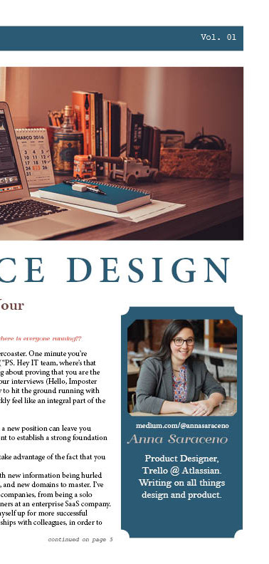 Choice Design Newsletter