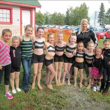 At the Alaska State Fair.