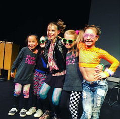 Studio 49 dancers performed in a music video choreographed by Mikal for the Make a Wish Foundation.
