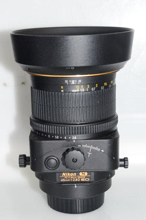 Nikon 45/2.8 PCE lens