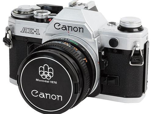 Canon AE-1 35mm SLR