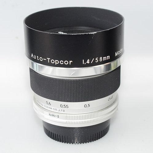 Topcor 58/1.4 NF
