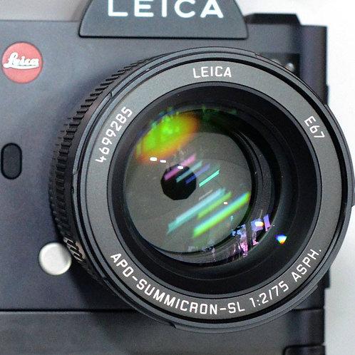 Leica 75/2 Apo-Summicron SL