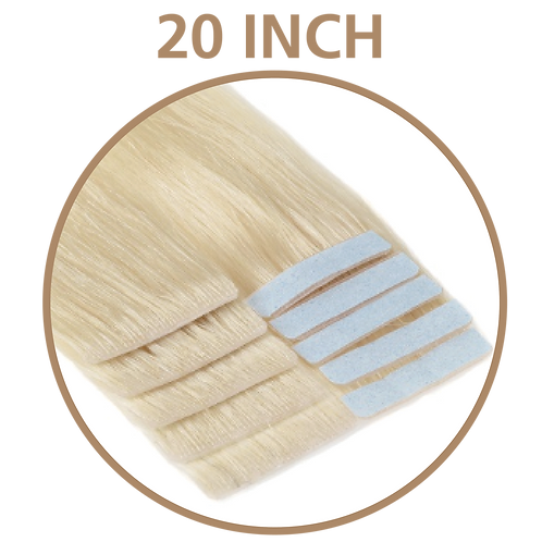 "20"" INVISIBLE TAPE HAIR EXTENSIONS"
