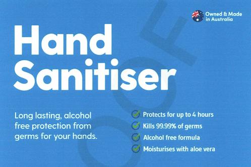 Karri Hand Sanitiser - Non-Alcohol Based 24 x 100ml Re-usable Spray Pump Bottles