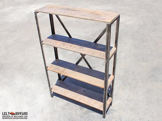 Rustic Industrial Bookshelf