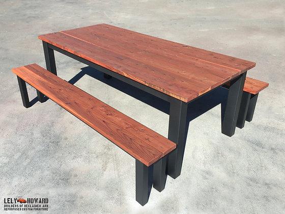 Outdoor Industrial Table