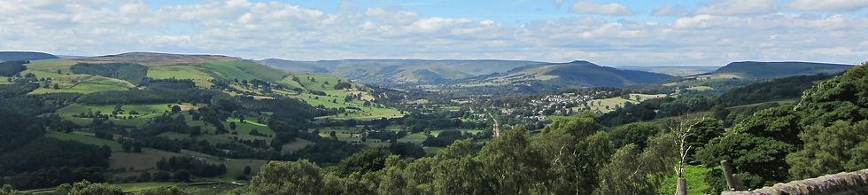 Peak District panorama