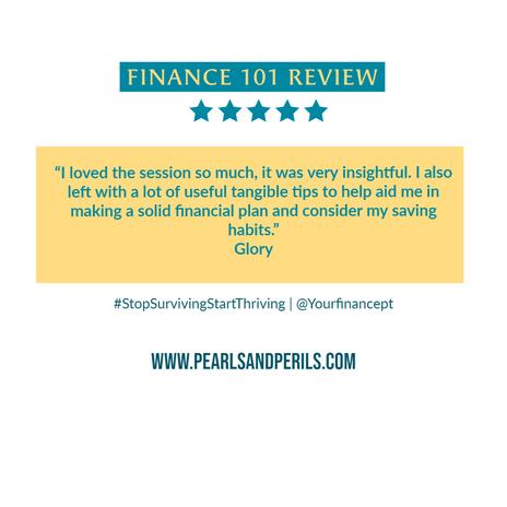 Finance 101-Glory