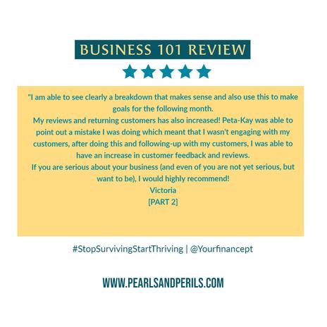 Business 101-Victoria pt 2