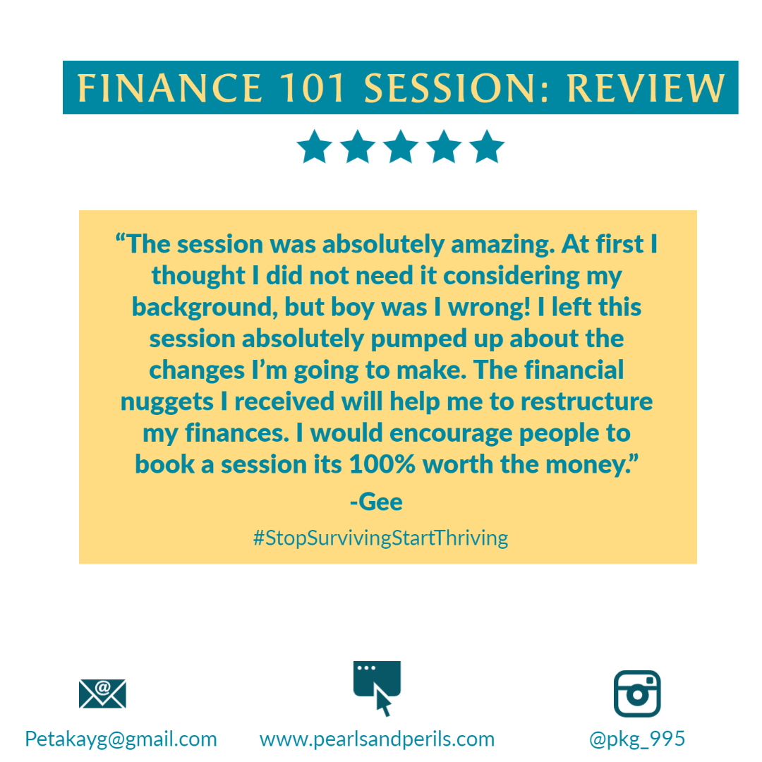 Gee's Finance 101 review
