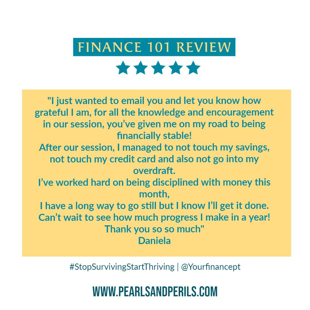 Finance 101-Daniela